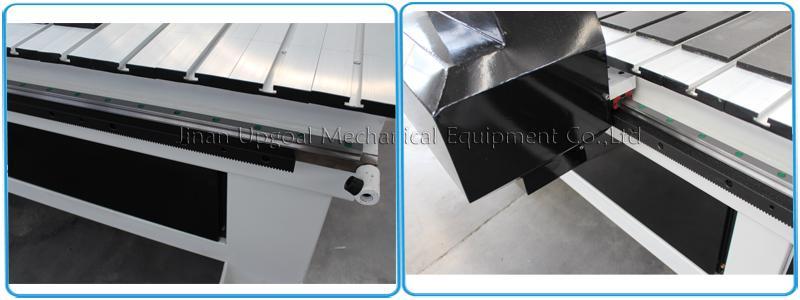 Linear square guide rail, Hiwin, Taiwan & helical rack pinion transmission