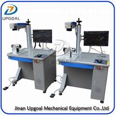 Metal Artwork Fiber Laser Marking EngRaving Machine 30W