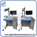 Metal Artwork Fiber Laser Marking EngRaving Machine 30W