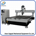 0-180 Degree Spindle Rotating ATC CNC Carving Machine 2000*3000mm