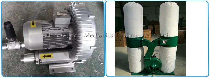 Vacuum pump & dust collector