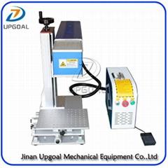 Desktop Non-Metal Materials Co2 RF Laser Marking Machine RF 30W