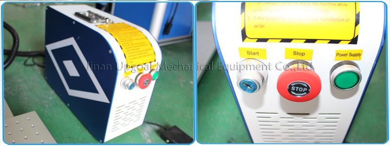 Desktop Non-Metal Materials Co2 RF Laser Marking Machine RF 30W 9