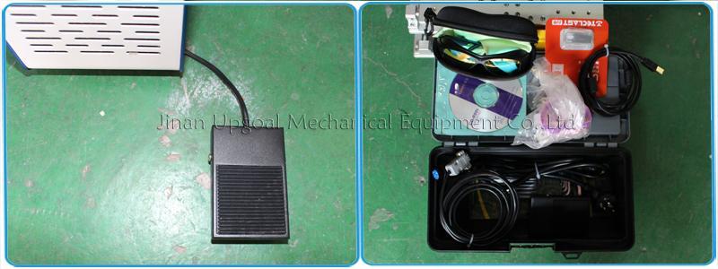 Desktop Non-Metal Materials Co2 RF Laser Marking Machine RF 30W 12