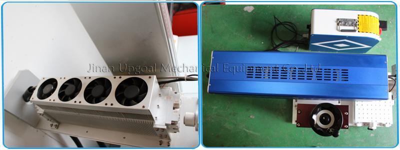 Desktop Non-Metal Materials Co2 RF Laser Marking Machine RF 30W 8