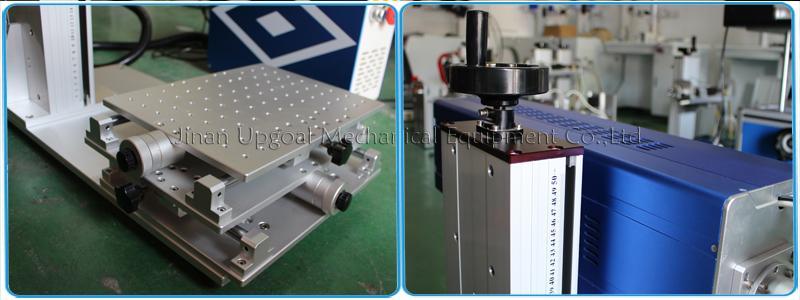 Desktop Non-Metal Materials Co2 RF Laser Marking Machine RF 30W 11