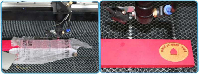 Rubber Stamp Co2 Laser Engraving Cutting Machine  17