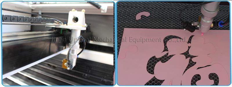 Co2 laser head with auto focus sensor & red dot positioning