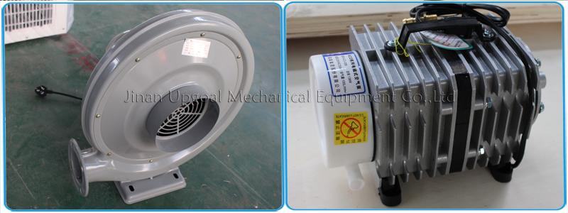air blower and air pump for machine blow off