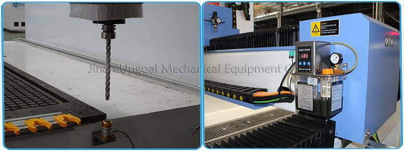 4 Axis Foam ATC CNC Router Machine with 180 degree Rotated Spindle 19