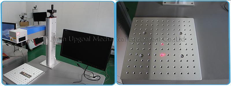 Depth Metal Marking with RayCus 50W Fiber Laser Marking Machine  10