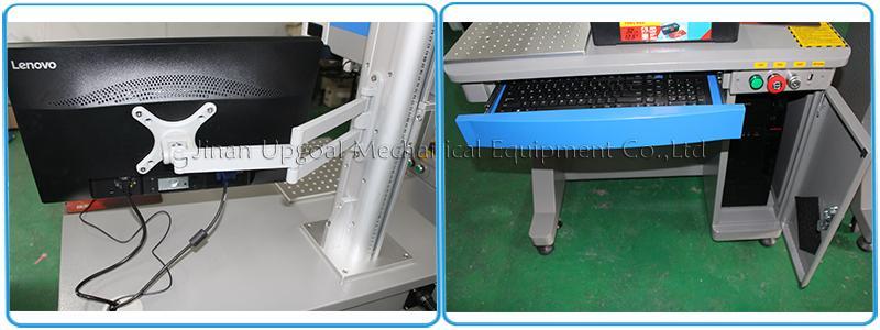 Depth Metal Marking with RayCus 50W Fiber Laser Marking Machine  13