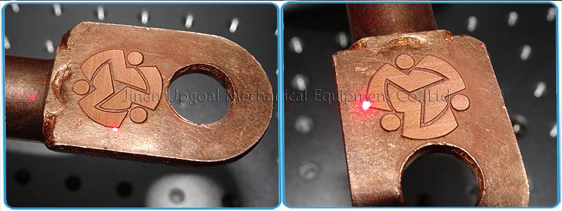 depth marking on copper/brass