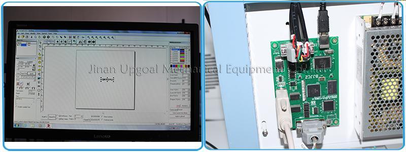 Depth Metal Marking with RayCus 50W Fiber Laser Marking Machine  11