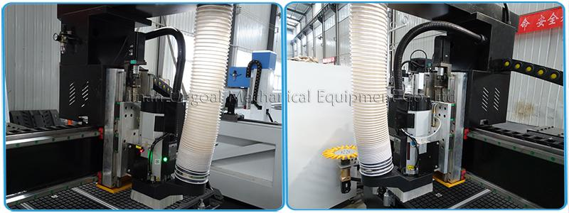 9.0kw China HQD air cooling spindle