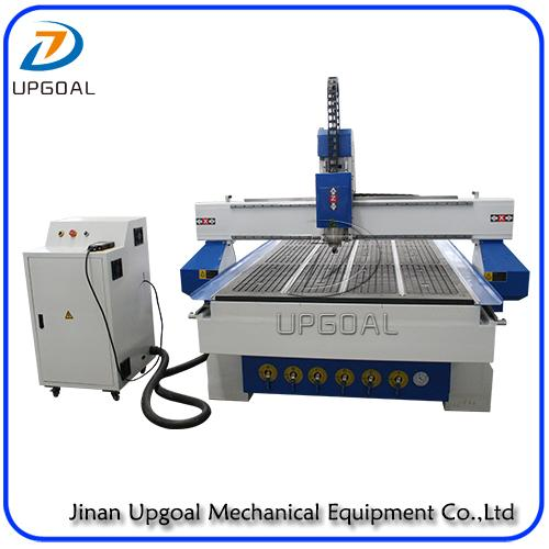 Vacuum table with aluminum alloy T slot