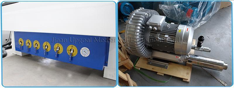 vacuum valve & 5.5kw air cooling vacuum pump