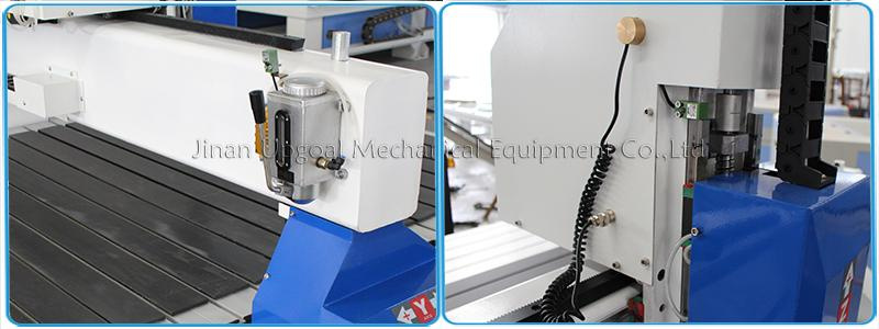 1300*2500mm Vacuum TableCNC Wood Engraving Cutting Machine with DSP Control 16