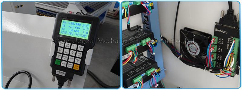 DSP offline control system( RichAuto, A11E, 3 axis)