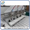 4*4 feet 4 Heads 4 Cylinder Woodworking Engraving Machine 1300*1300mm