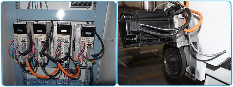 Leadshine hybrid servo motor and driver for XYZA-axis