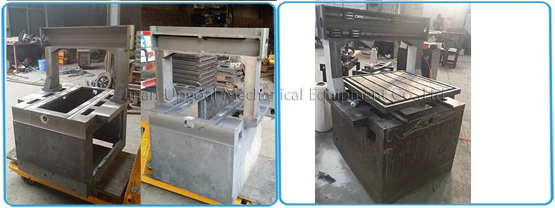 heavy duty whole cast iron structure