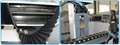 Hiwin linear square guide rail & lead ball screw transmission