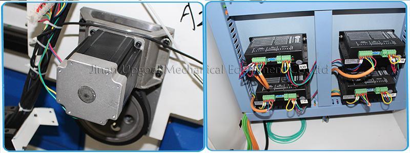 86BYGH450B stepper motor & Leadshine DMA860H stepper driver