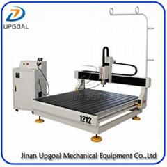 Desktop 2D3D CNC Wood Advertising Board Engraving Cutting Machine 4*4 feet