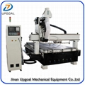 10 Pcs Tools Changing Linear ATC CNC Router with SYNTEC Controller