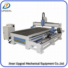 4 Axis CNC Engraving Machine with Vacuum Table /Removable Rotary Axis Holder (Hot Product - 1*)