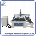 4 Axis CNC Engraving Machine with Vacuum Table /Removable Rotary Axis Holder