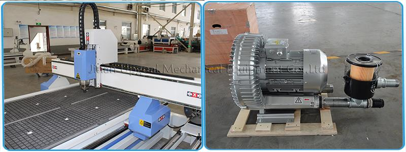 Vacuum table with 5.5kw air cooling pump