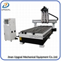 Automatic Three Tools Changer  Woodworking CNC Router Machine 1300*3000mm 2