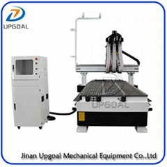 Automatic Three Tools Changer  Woodworking CNC Router Machine 1300*3000mm