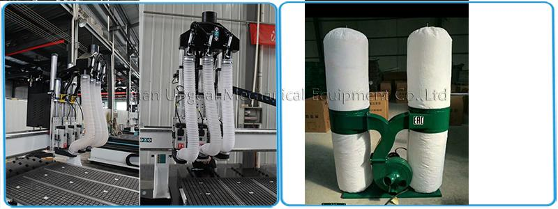 Automatic Three Tools Changer  Woodworking CNC Router Machine 1300*3000mm 13