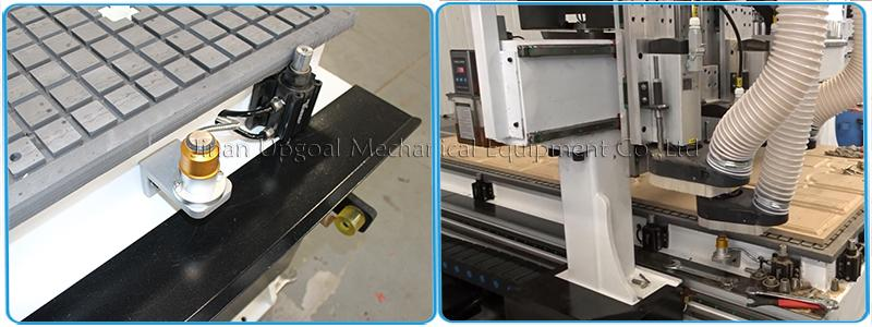 Automatic Three Tools Changer  Woodworking CNC Router Machine 1300*3000mm 17