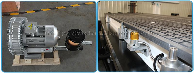4 Axis Three Spindles Changing ATC CNC Engraving Cutting Machine 1300*2500mm 11