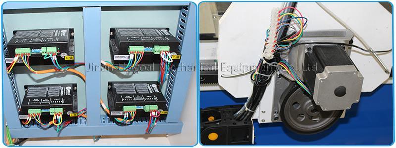 CW-86BYGH450B/450C stepper motor & Leadshine DMA860H stepper driver