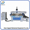 3D 4 Axis Wood Metal CNC Router with