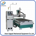 Wood Aluminum Furniture Automatic Disc Auto Tools Changer CNC Machine 850W