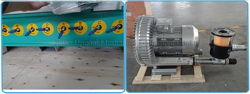 Wood Aluminum Furniture Automatic Disc Auto Tools Changer CNC Machine 850W 14