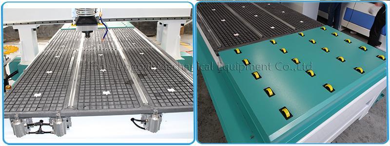 Wood Aluminum Furniture Automatic Disc Auto Tools Changer CNC Machine 850W 13