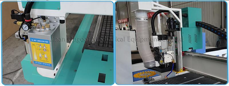 Wood Aluminum Furniture Automatic Disc Auto Tools Changer CNC Machine 850W 16
