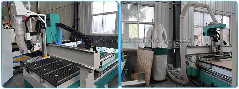 Wood Aluminum Furniture Automatic Disc Auto Tools Changer CNC Machine 850W 15