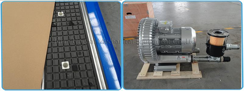 with 5.5kw air cooling vacuum pump