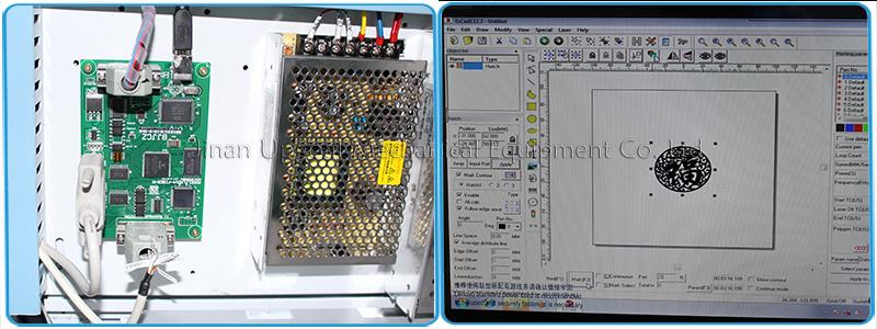 Original EzCad controller for metal marking
