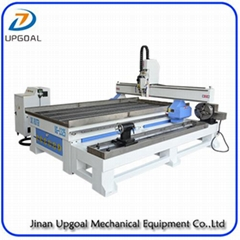 6.0KW 4 Axis Metal Wood CNC Router Machine with Hybrid Servo Motor