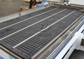 6 zones vacuum adsorption table with aluminum alloy T slot