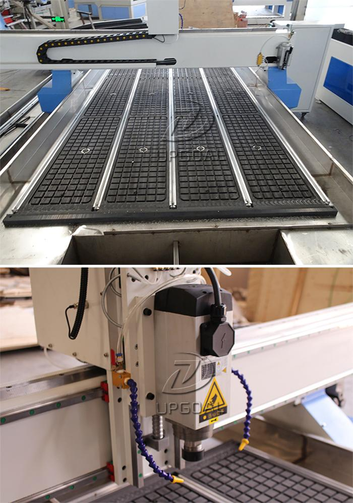 stainless steel water slot cooing system for metal/stone hard materials processing,